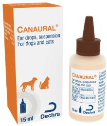 Canaural® Ear Drops suspension for dogs and cats