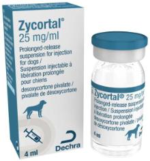 Zycortal® 25 mg/ml prolonged-release suspension for injection for dogs