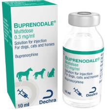 Buprenodale® Multidose 0.3 mg/ml solution for injection for dogs, cats and horses
