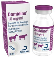 Domidine® 10 mg/ml solution for injection for horses and cattle