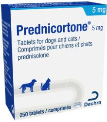 Prednicortone® 5 mg tablets for dogs and cats